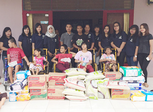 Indonesia SJC Subsidiary's End of Year Visit to Care Facility for Intellectually Challenged Children