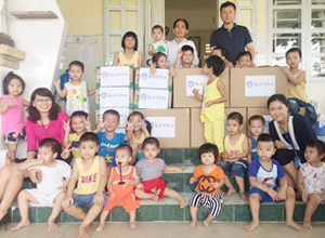 Visit to Children's Shelters in HCM