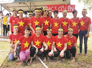 SAE-A Vietnam's company-wide tug-of-war event