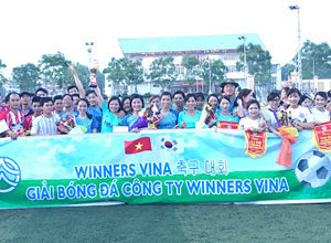 SAE-A Vietnam holds annual intracompany Soccer Tournament
