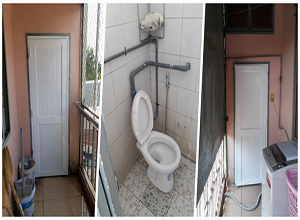 Sae-A Vietnam, Providing new toilet facilities for the orphans